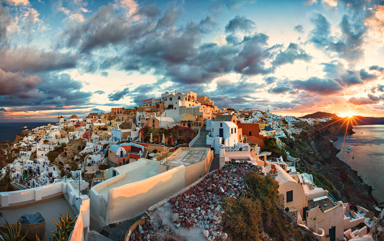 Athens Mykonos Santorini Delphi Kalambaka Meteora Greece Tour Tailor Made Tour Tours